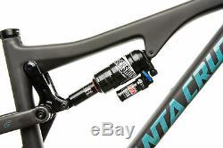 2017 Santa Cruz Bronson CC Mountain Bike Frame Small 27.5 Carbon RockShox