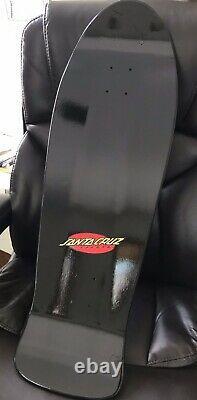 2020 Santa Cruz My Colorway Meek Slasher Skateboard Deck Black