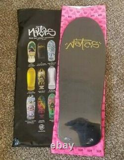 2021 Santa Cruz Natas Skateboard Blind Bag Autographed #22/50 Box & Info Sheet
