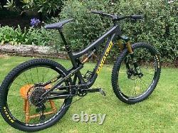 Black 2017 Santa Cruz 5010 CC XX1 Size M with Brand New Parts