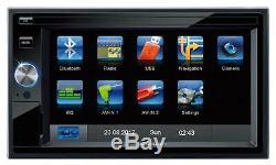 Blaupunkt SD Bluetooth 2DIN MP3 USB AUX Autoradio für Fiat Ducato Peugeot Boxer