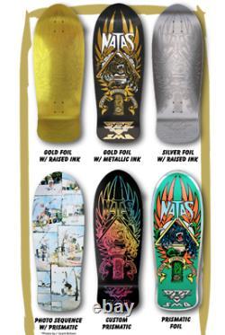 COMPLETE SET All 6 Natas Kaupas Blind Bag Santa Cruz Skateboard Deck SMA RARE
