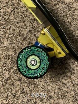 Custom Complete Santa Cruz Rob Roskopp Target 4 Skateboard Deck Reissue Black