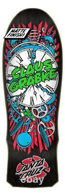 Grabke Exploding Clock Reissue Santa Cruz Skateboard Deck SHIPS ASAP