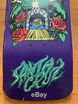 Gregor Rankine Santa Cruz NOS VTG Skateboard Deck Vintage Skateboard. Rare Rare