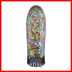HOSOI x Santa Cruz Rare Skateboard Deck 9.8 x 30.5 inch Black from Japan FS