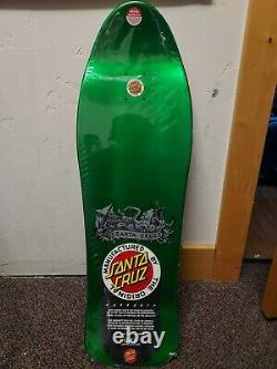 Jason Jessee Santa Cruz Neptune Reissue Skateboard Deck Rare Green In Shrink