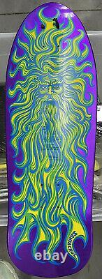Jason jessee sungod Purple Pearlescent skateboard deck reissue Santa Cruz