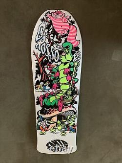 Jeff Grosso C&D Santa Cruz Wonderland Deck Reissue AP/100 White Dip