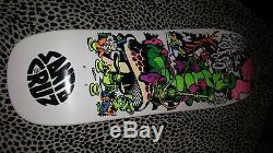Jeff Grosso Skateboard Deck Santa Cruz Ap/100 Cease & Desist Alice In Wonderland