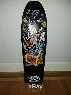 Jeff Grosso toy box skateboard deck santa cruz toybox rare black