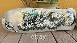 Jeff Kendall Snake Dust to Dust Santa Cruz Skateboard Deck Jim Phillips