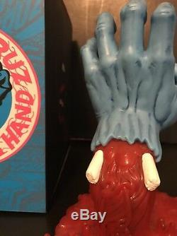 Kidrobot (Jim Philips) Santa Cruz Screaming Hand 10 Inch Vinyl Figure MINT NEW