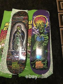 MARS ATTACKS skateboard Santa Cruz #7 Only