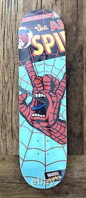 MARVEL COMICS SPIDER-MAN, SANTA CRUZ Skate Board Deck, Limited