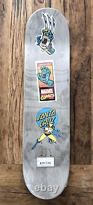 MARVEL COMICS WOLVERINE, SANTA CRUZ Skate Board Deck, Limited