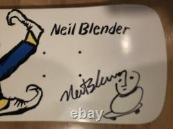 NEIL BLENDER COFFEE BREAK G&S, Signed Powell Peralta, Santa Cruz, Alva, Downtown