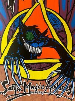 NOS 90s SMA Natas Kaupas Evil Cat Panther Vintage Skateboard Deck Santa Cruz 101
