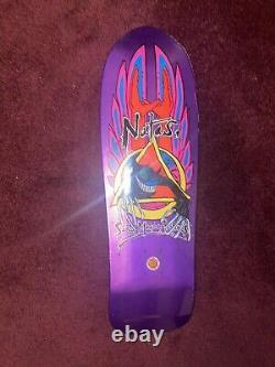 Natas Evil Cat Santa Cruz Skateboard Deck