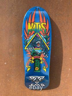 Natas Kaupas Skateboard Deck Santa Monica Airlines Santa Cruz Panther Reissue