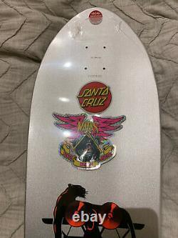 Natas Santa Monica Airlines Blind Bag Teal Prismatic Skateboard Santa Cruz