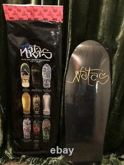 Natas kaupas Blind Bag Autographed ULTRA RARE 27/50 Skate Deck DONT MISS OUT