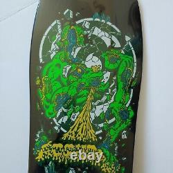 New! Santa Cruz Rob Roskopp Target 4 Reissue Old School Skateboard Deck Black