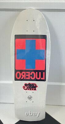 New Sealed Santa Cruz John Lucero Cross Skateboard Deck Skate OG NOS Vintage