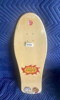 New Signed Jason Jessee Neptune 1 Shark Tail Santa Cruz Reissue Skateboard Deck