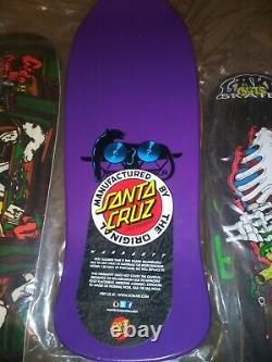 New Sma Santa Cruz Natas Kaupas Panther Skateboard Deck Purple Dip Santa Monica