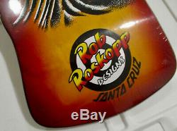 Nos 2017 Santa Cruz Rob Roskopp Eye skateboard oldschool Reissue Deck