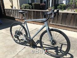 Open WI. DE Gravel Bike Size L SRAM AXS Santa Cruz Reserve
