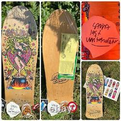 Original vintage Salba Witchdoctor Santa Cruz Skateboard Powell Peralta
