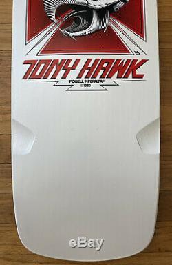 POWELL PERALTA TONY HAWK CHICKEN SKULL SKATEBOARD DECK vision santa cruz rare og