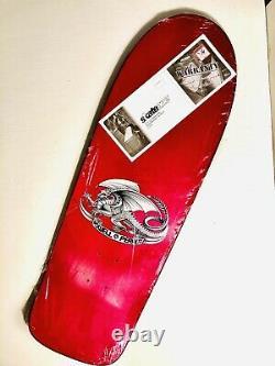 Powell Peralta Ollie Gelfand Skateboard Deck NEW! Santa Cruz SMA Purple Tank