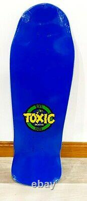 RARE 1 of 50 Toxic Denny Riordon Skateboard Deck Powell Santa Cruz G&S brand-x
