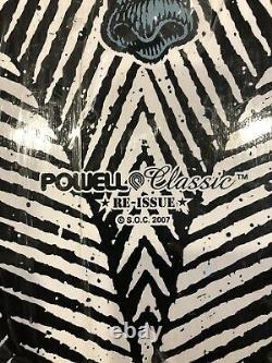 RARE 2007 Powell Peralta Classic Mike Vallely Skateboard Deck Santa Cruz Sims