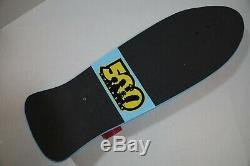 Rare Bart Simpson x Santa Cruz Skateboard Complete Limited 500th Episode