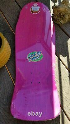 Rare Erick Winkowski Primeval Blacklight Santa Cruz Skateboard Deck 10.34