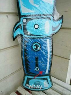 Rare Unused Santa Cruz Guzman Skateboard Skate Deck Deadstock