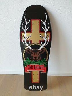 Reissue SANTA CRUZ Jeff Kendall Jaegermeister Skateboard Deck Board Oldschool