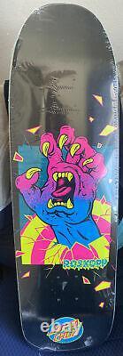 Rob Roskopp Santa Cruz Frame Hand skateboard deck. Out of print & new in shrink