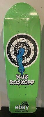 Rob Roskopp Target Full Set. Rare Fluorescent Green