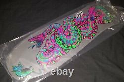SANTA CRUZ JEFF KENDALL REISSUE BLACKLIGHT skateboard deck NOT DGK PERALTA ALVA