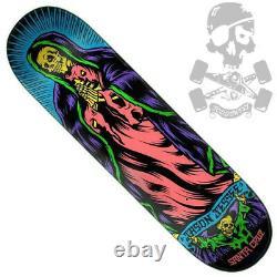 SANTA CRUZ Jason Jessee Bone Guadalupe Neon Skateboard Deck 8.5