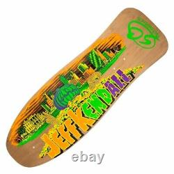 SANTA CRUZ Kendall Reissue Skateboard Deck 10 X 30.12 Pumpkin Stain Natura