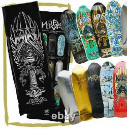 SANTA CRUZ / Natas Blind Bag -Skateboard Deck Teal / Prismatic Foil