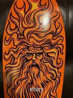 SANTA CRUZ Skateboard Deck Jason Jessee Jesse Sungod Reissue Orange Dip