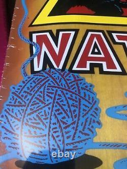 SMA Natas Kaupus Reissue Kitten 9.89in. X 29.82in Santa Cruz Skateboard