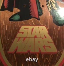 SOLD OUT RARE Santa Cruz X Star Wars Slave Leia Skateboard Deck Not Kaws Mcgee